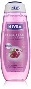 Nivea Hydrating Shower Gel Goji Berry and Powerfruit Cranberry
