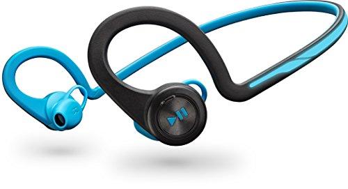 【国内正規品】 PLANTRONICS 両耳 Bluetooth ワイヤレスヘッドセット BackBeat Fit Blue BACKBEATFIT-BL
