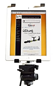 iPad 2 / 3 Tripod Mount - G5 Pro® By iShot® Mounts -- Adapter - Holder - Attachment - Made in the U.s.a - Free Window Mount Included - NEW iPad 2 / 3 Accessories Kit (4002-ipad2)