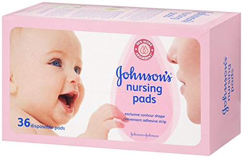 3 x Johnsons Baby Nursing Pads 30 Contour Pads