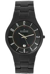 Skagen Men's 801XLTBXB Sports Titanium Links in Black Watch