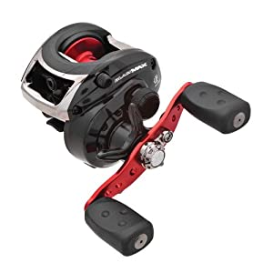 Abu Garcia Black Max Low Profile Baitcast Left Hand Reel by Things for You