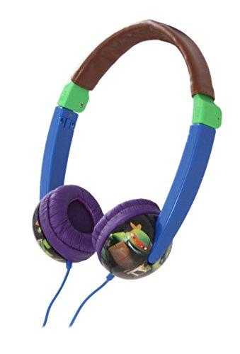 Nickelodeon Teenage Mutant Ninja Turtles Kid Safe Headphones - Blue (19765)