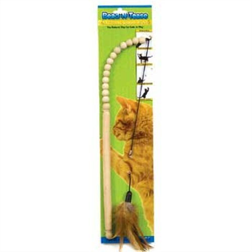 ware-manufacturing-wood-bead-n-tease-wand-cat-toy-by-ware-manufacturing