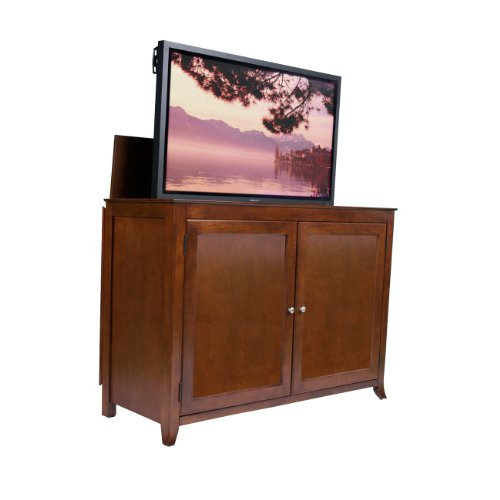 Touchstone Home Products Berkeley Cherry Tv Lift Cabinet for Flat Screen Tv's up to 55
