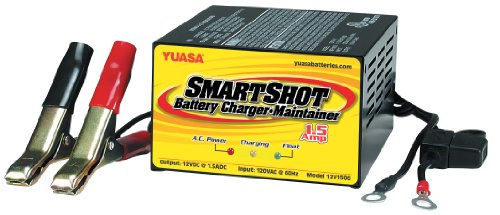 Yuasa YUA1201501 Smart Shot Battery Charger