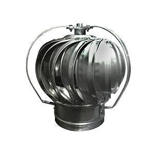 Stainless Steel Turbine Ventilator - Roof Vents - Amazon.com
