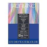 Savoir Faire Fabriano Studio WC Pad 9X12 CP 300G 50 Shts,White (Color: White, Tamaño: 9x12 in)