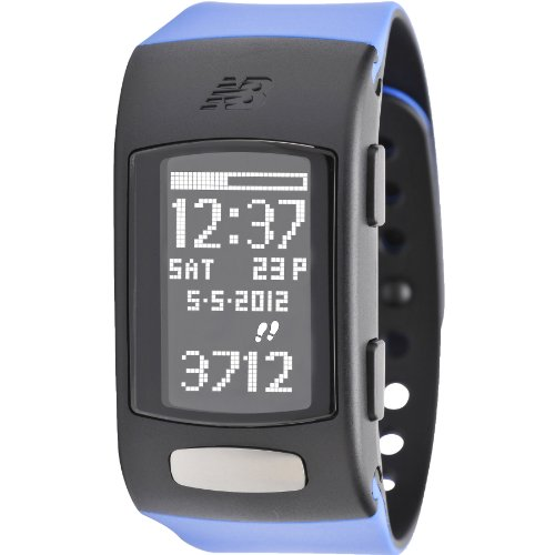 New Balance Lifetrnr Heart Rate Calorie Monitor, Blue