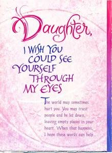 Daughter birthday greeting card daughter i wish you could see cheap daughter birthday greeting card daughter i wish you could see yourself review m4hsunfo