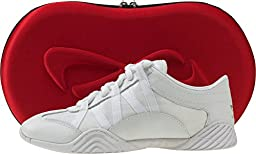 Nfinity Adult Evolution Cheer Shoes, White, 7.5