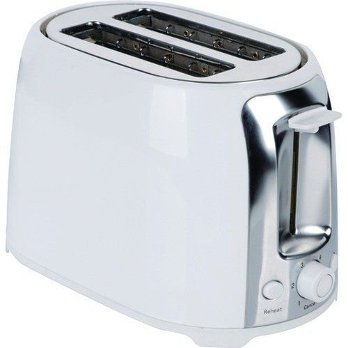 NEW Brentwood 2 Slice Cool Touch Toaster ; White and Stainless Steel (TS-292W) (Mickey Mouse Musical Toaster compare prices)