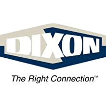 "Dixon B5101S600CC-A Stainless Steel 316L Butterfly Valve with Pull Handle and Silicone Seal, 6"" Tube OD"
