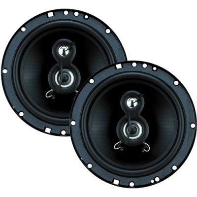 Planet Tq623 6.5 3-Way Car Speakers 240W Pair
