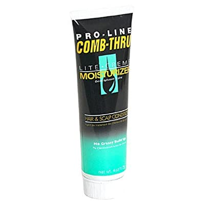 Cheapest Pro-Line Comb-Thru Lite-Cr?me Moisturizer, Hair & Scalp Conditioner for Men, 4-Ounce Tubes (Pack of 6) by Pro-line - Free Shipping Available