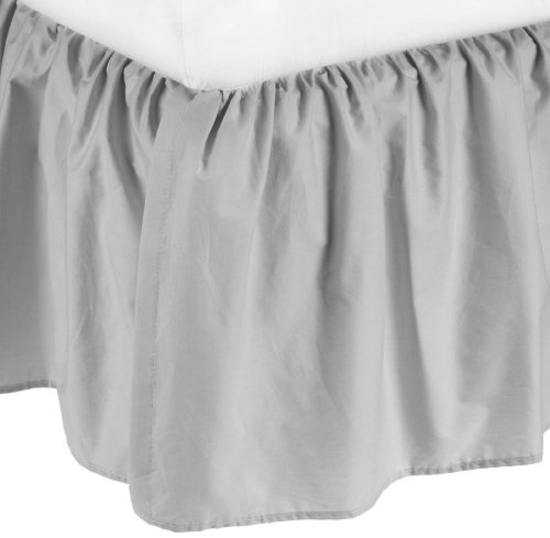 Buy Bargain American Baby Company 100% Cotton Percale Portable Mini Crib Skirt, Gray
