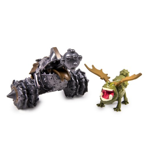 DreamWorks Dragons, How to Train Your Dragon 2 Battle Pack - Gronckle vs Gronkle Cannon