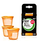 Tommee Tippee Essential Food Pots x 3 3 per pack