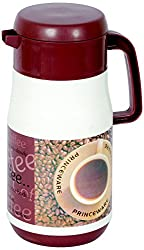 Princeware Cafe Insulated Flask, 1.5 Litres, Brown