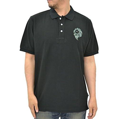 (ネスタブランド) NESTA BRAND ポロシャツ メンズ 半袖 大きいサイズ 無地 ロゴ クールビズ 夏 リゾート 2color 3L ブラック