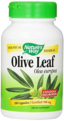 Nature's Way Olive Leaf 100 Count by Nature's Way