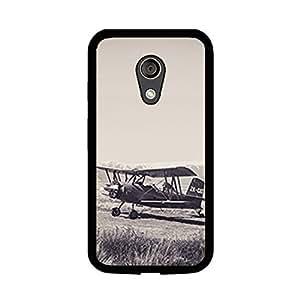 Vibhar printed case back cover for Motorola Moto G (2nd Gen) VintagePlane