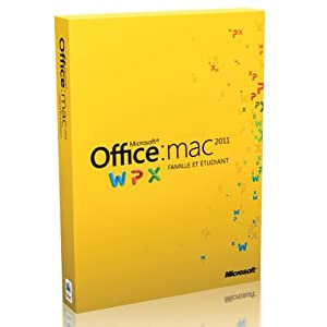 Telecharger microsoft office mac famille et tudiant 2011 - Office famille et petite entreprise 2013 telecharger ...