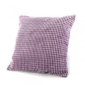 Decorative Pillow Cover Model : Amazon.com: Sofa Throw Pillow Cover(Purple) Model 1: Electronics