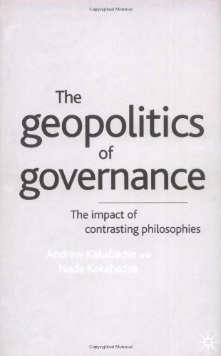 The Geopolitics of Governance: The Impact of Contrasting Philosophies