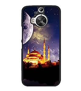 printtech Building Holy Back Case Cover for HTC One M9+