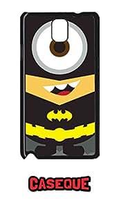 Caseque Minion Batman Back Shell Case Cover for Samsung Galaxy Note 3