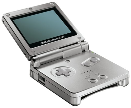 GameBoy Advance SP Konsole silver
