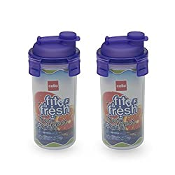 Fit & Fresh Sipper Set 2Pc. 450ML (Purple)