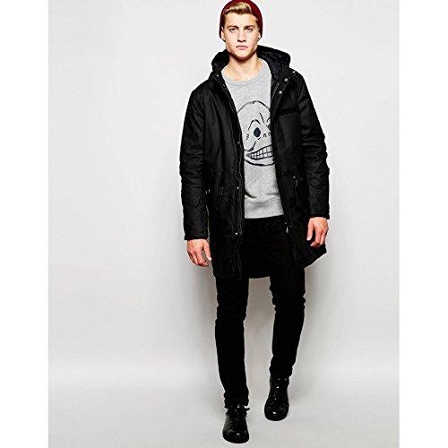 cheap-monday-cage-parka-jacket-hombre-negro-taille-small-100-algodon-forro-de-poliuretano-relleno-10
