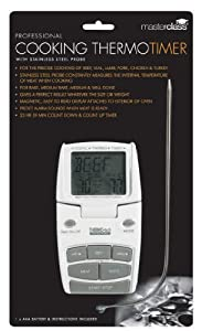 Kitchen Craft Master Class Digital Cooking Thermometer and Timer