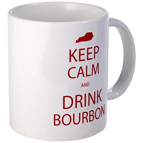 Cafepress Keep Calm And Drink Bourbon Mug - S White