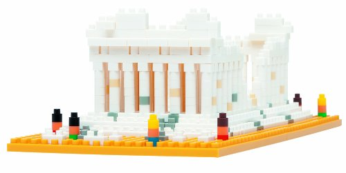 Nanoblock NBH-066 Parthenon Greece Athens