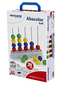 Miniland - Ábaco (Miniland Educational 50.95273) [Importado de Inglaterra]