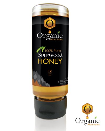 Organic Mountains 100% Pure Honey - Sourwood