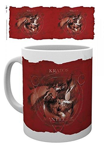 God Of War - Manticore Tazza Da Caffè Mug (9 x 8cm)