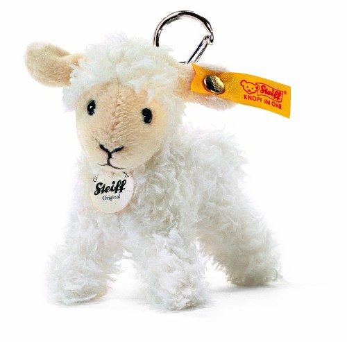 Steiff Keyring Lamb Wool White front-850743