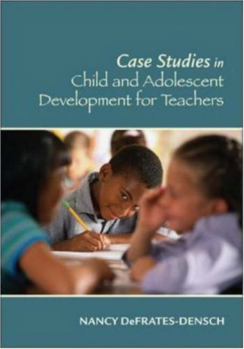 Case Studies In Child And Adolescent Development For Teachers front-604718