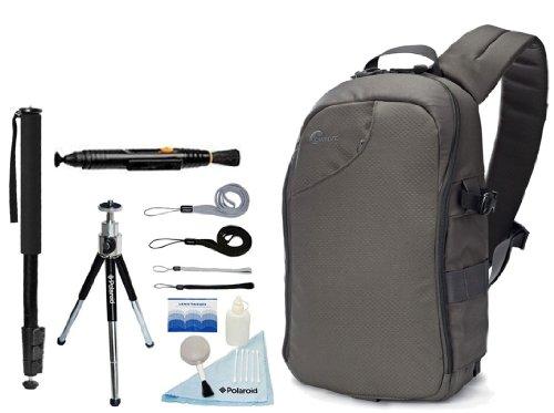 Lowepro Transit Sling 250 Aw Camera/Ipad Sling Bag For The Canon Eos Rebel T5I, T3, T3I, T4, T4I, T2I, T1I, Eos 1D Mark Iii, 1D Mark Iv, 1Ds Mark Ii, Sl1, 5D, 7D, 20D, 30D, 40D, 50D, 60D, 70D, Xs, Xsi, Xti Digital Slr Cameras
