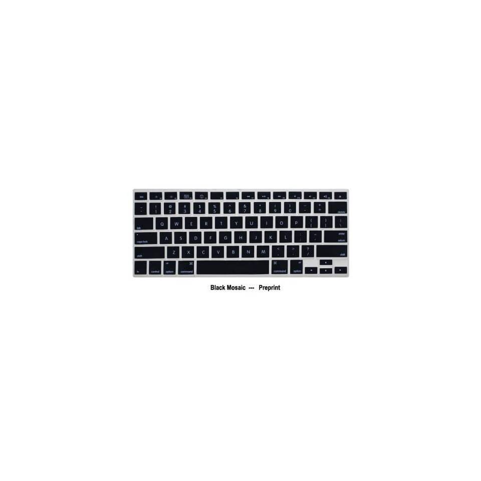 Black KeyBoard Silicone Cover Skin For Apple MAC MacBook Pro 13.3 15.4