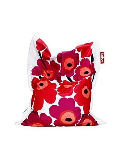 Famous Beanbag Maker Dog Bed Large Marimekko, Red Unikko