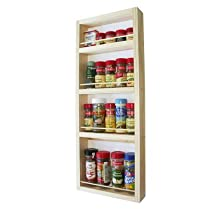 60cm On The Wall Spice Rack