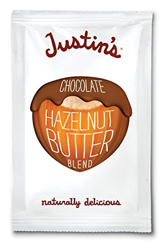 Justin's Chocolate Hazelnut Butter Blend, Squeeze Packs, 1.15 Ounce (Pack of 10) (Gluten Free Fine Cooking compare prices)