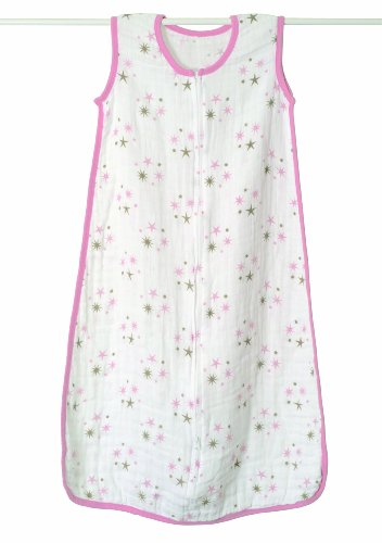 Aden + Anais Classic Muslin Sleeping Bag, Star Light, X-Large