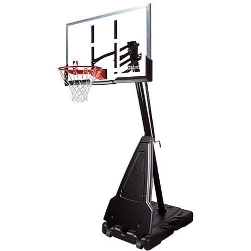 "Spalding 68564 Portable Basketball System - 54"" Acrylic Backboard"