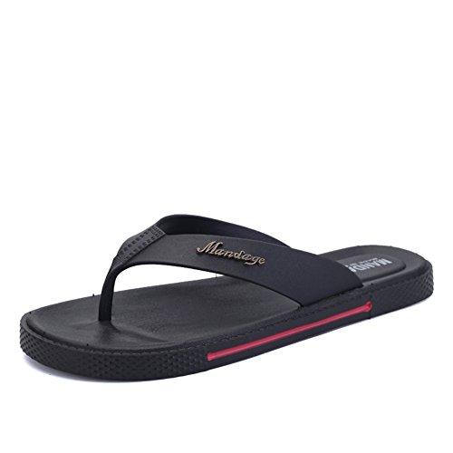 Summer bascules/loisirs de plein air sandales/Les pieds anti-dérapant clip Uni sandales et pantoufles/Pantoufles de marée casual tendance